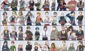 (日本語) 2017年TRPGプレイヤーキャラクター一覧