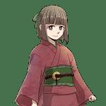 和服の少女, kimono, girl