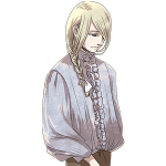 陰気な青年, 三つ編み, man, french braid