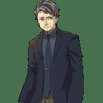 スーツの男性, man