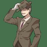 ヒゲの男性, 帽子, 紳士, gentleman