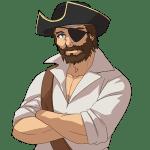 海賊, 船長, pirates, captain